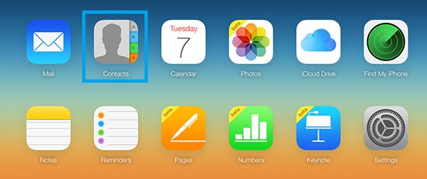 Enviar mensajes iCloud paso 1