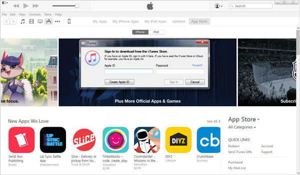 Eliminar apps iTunes paso 3