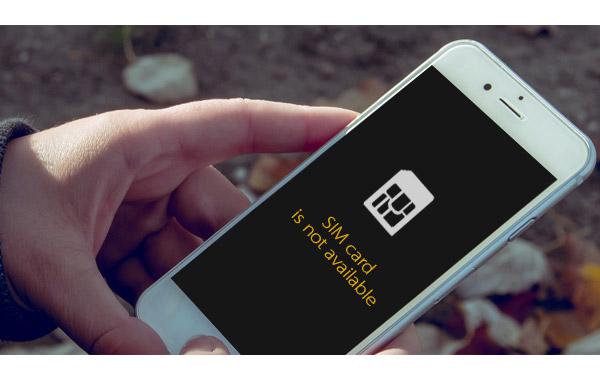 iPhone sin tarjeta SIM