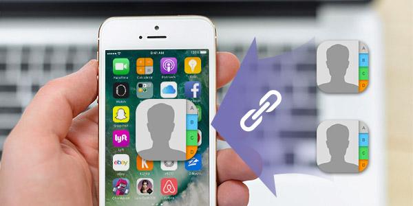 Juntar contatos duplicados no iPhone
