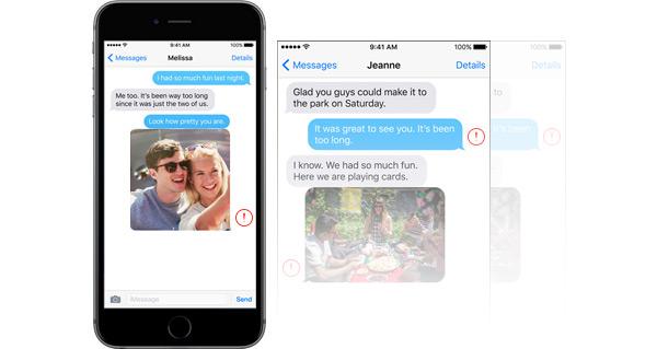 Mensagens não enviando iPhone