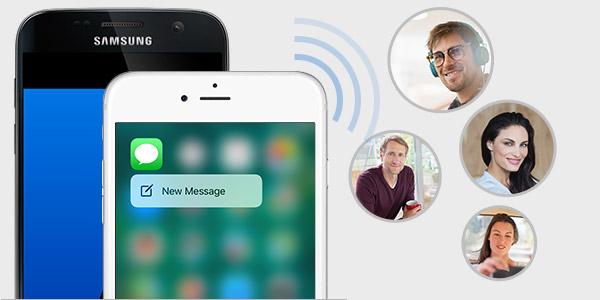 Mensajes en grupo en el iPhone