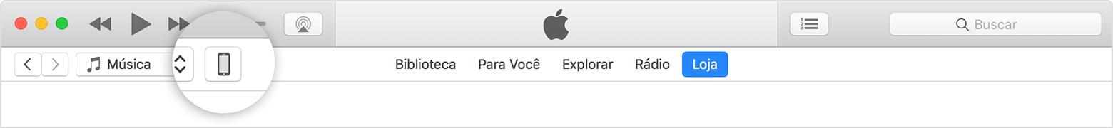 Transferir computador iPhone iTunes passo 2