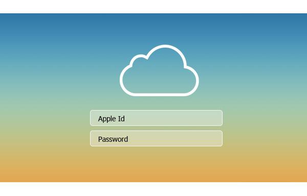 Problema pantalla login iCloud
