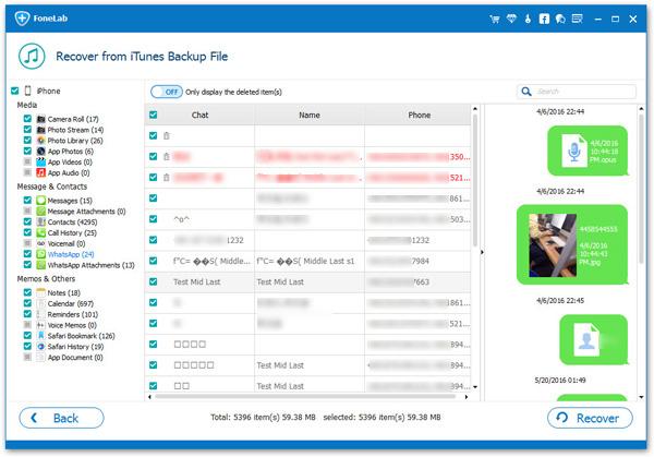 Recuperar mensagens backup iTunes