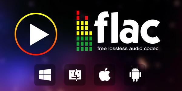Reprodutor de áudios FLAC