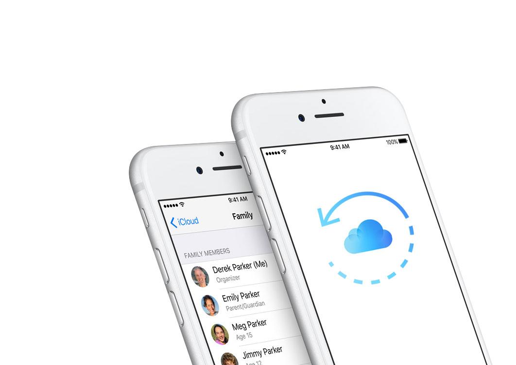 Restaurar dispositivos copia de seguridad iCloud