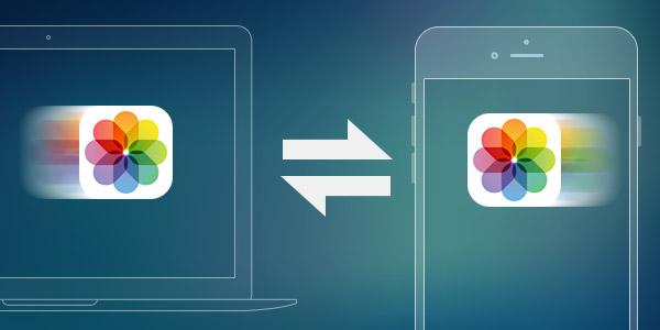 Transferir fotos PC iPhone