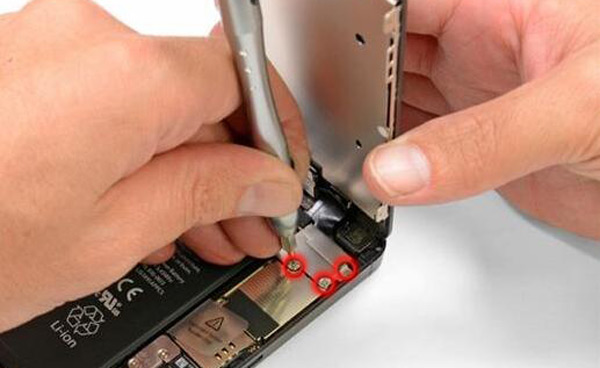 Trocar bateria iPhone 5 passo 4