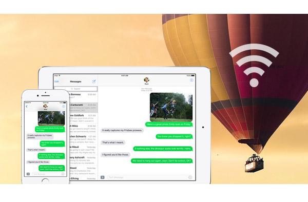 Verificar mensajes de texto en el iPhone