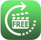 Girar video com o app iPhone Video Rotate Free