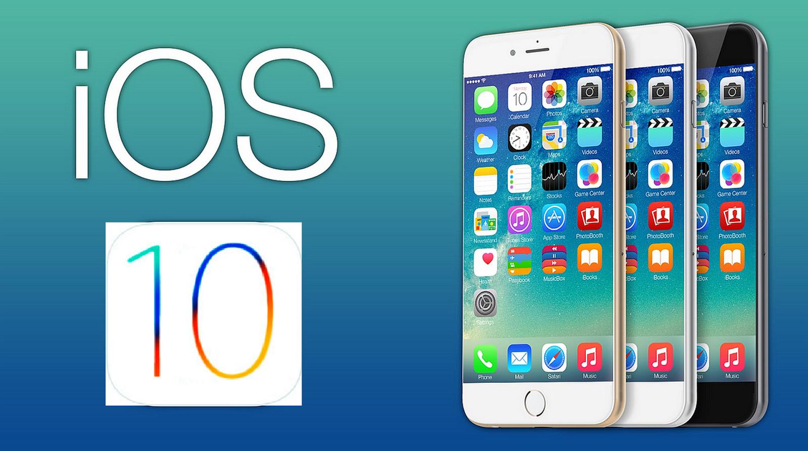 Atualização do iOS 10