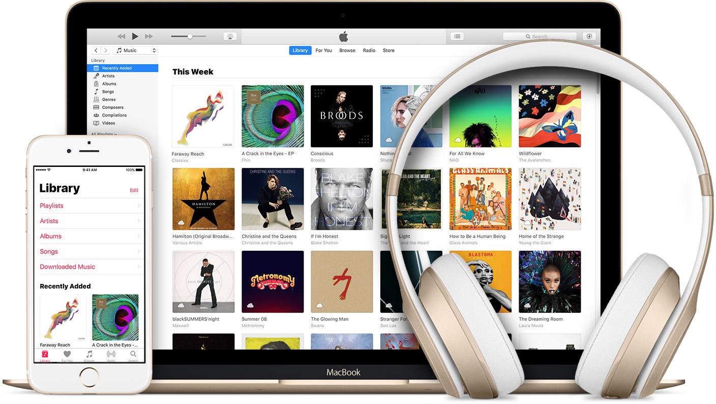 Colocar música dispositivos iOS