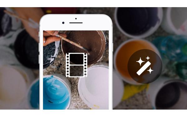 Editar vídeos gravados iPhone