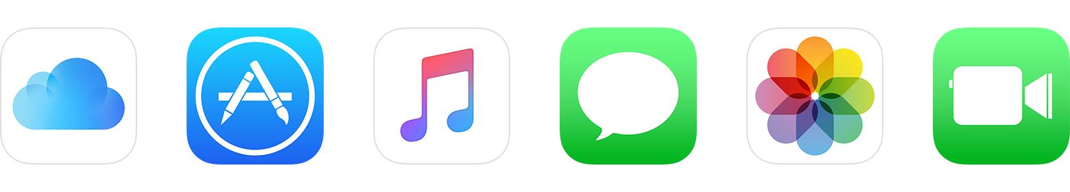Iniciar sesión Aplicaciones Apple