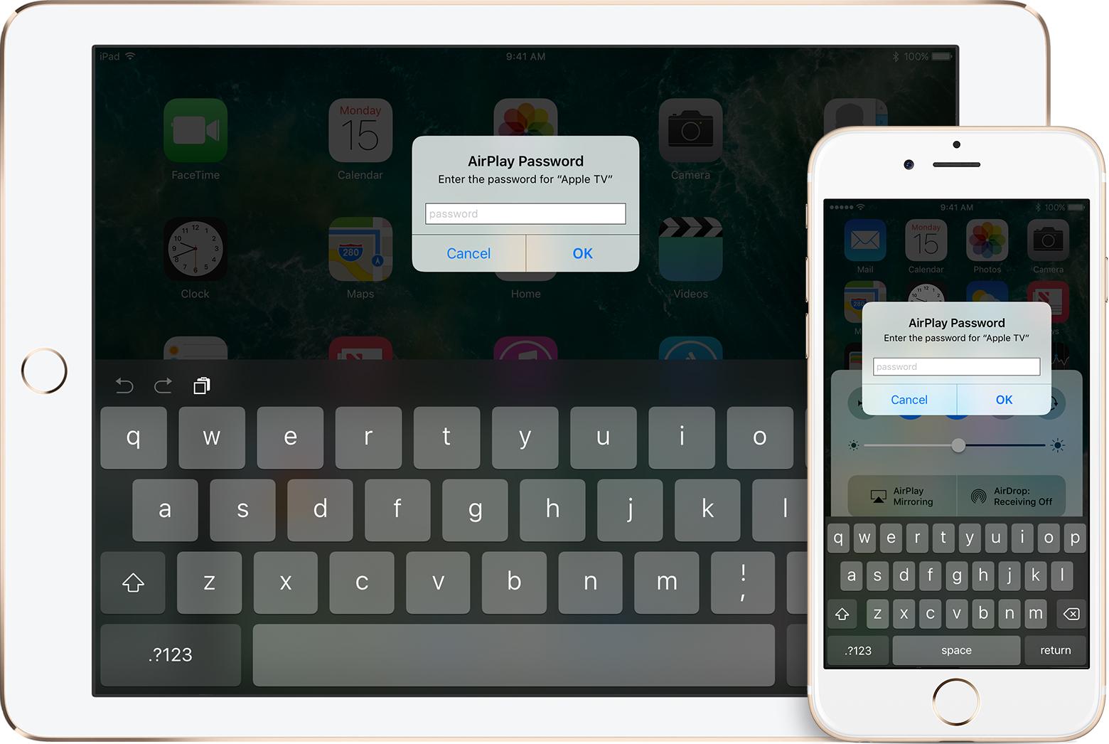 Espelhamento tela iPad iPhone
