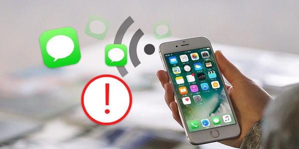 iPhone no envía o recibe mensajes