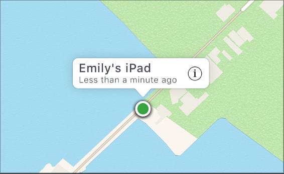 Localización del dispositivo Find My iPhone