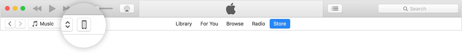 Sincronizar iTunes passo 2
