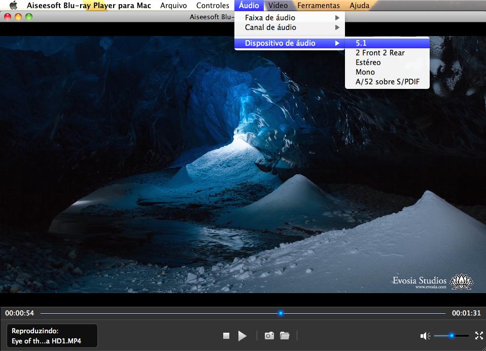 Reproduzir filmes 4K no Mac