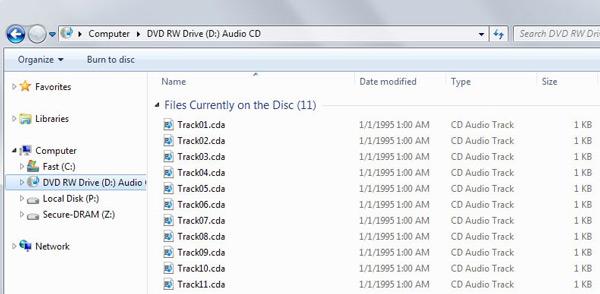 alterar arquivos cda para mp3
