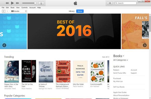 Baixar audiobooks iTunes passo 2