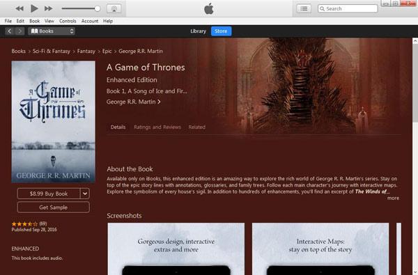 Baixar audiobooks iTunes passo 3