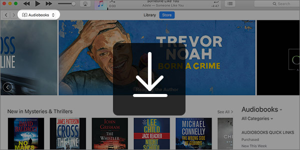 Baixar livros comprados iTunes