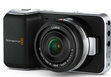 Melhores câmeras vlog Blackmagic Pocket Cinema