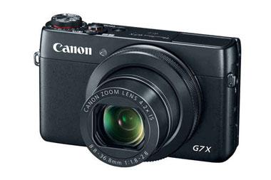 Melhores câmeras vlog Canon Powershot G7 X