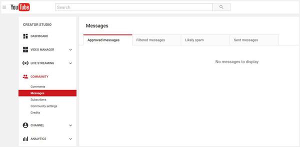 comunidade youtube
