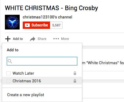Criar e encontrar playlist Youtube