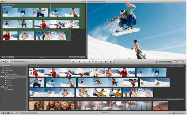 Editor de vídeos iMovie