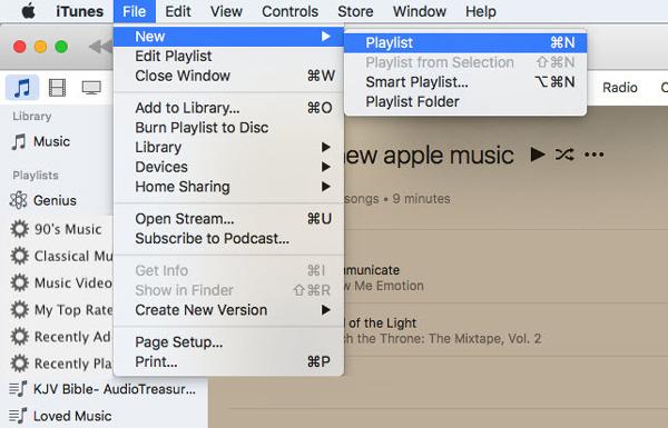 Passo 1 Gravar CD músicas iTunes