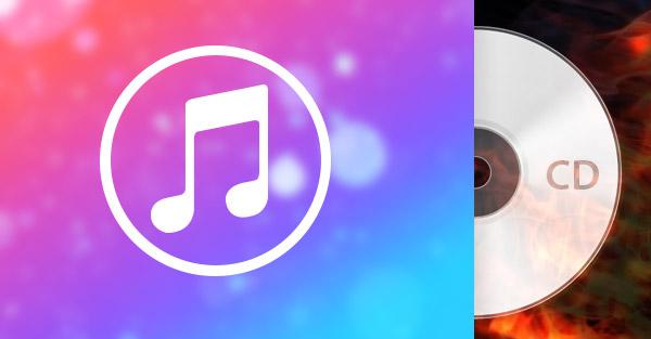 Gravar CD músicas iTunes
