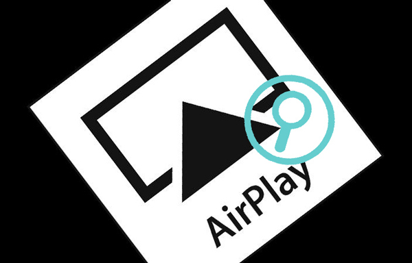 Ícone Airplay iTunes