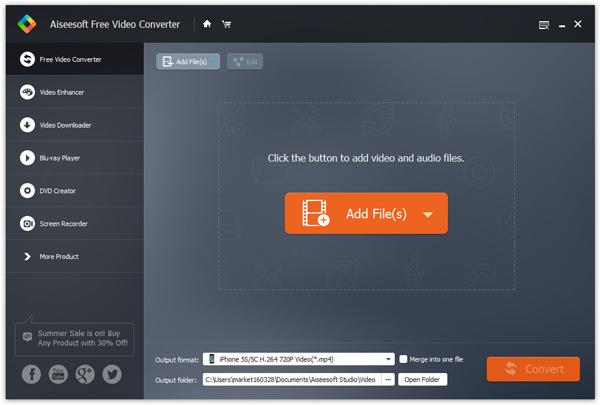 Passo 1 Baixar áudio Aiseesoft Video Converter Ultimate