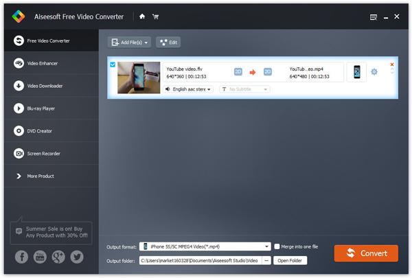 Passo 2 Baixar áudio Aiseesoft Video Converter Ultimate