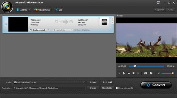 Adicionar arquivo de vídeo