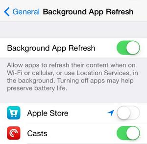 atualizacao de app em segundo plano