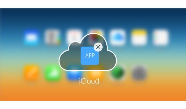 borrar apps de icloud
