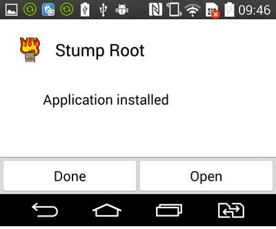 Abra la aplicación
