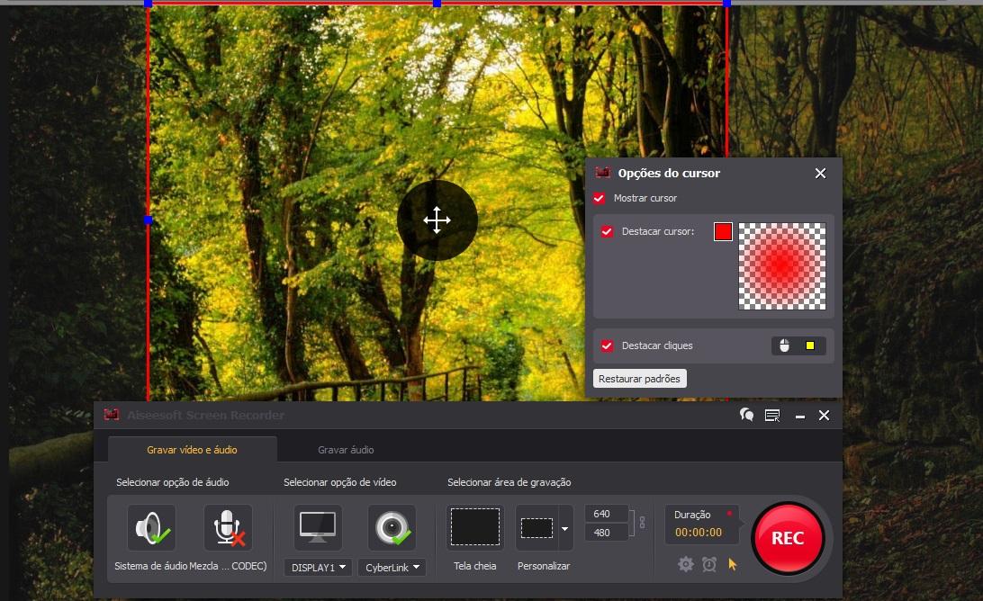 AiseeSoft Screen Recorder - melhor gravador de tela sem lag