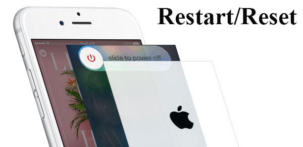 iniciar ou resetar iphone