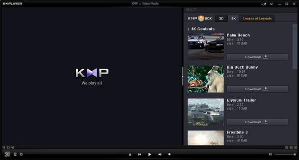 KM Player reproductor de video