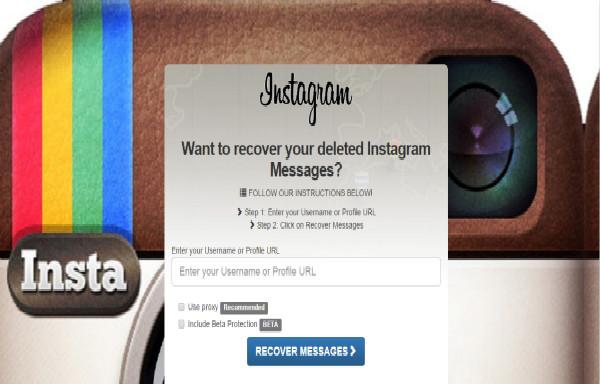 recuperar mensagens deletadas instagram