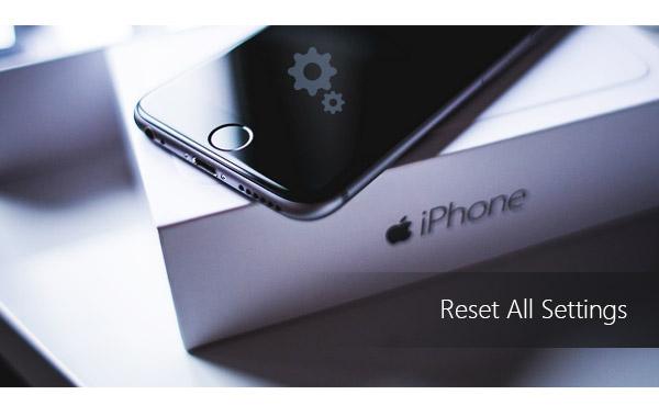 Redefinir configurações iPhone