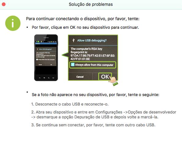 FoneLab Android Mac - recuperar arquivos apagados
