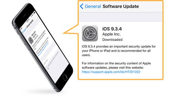 atualizar software do iphone