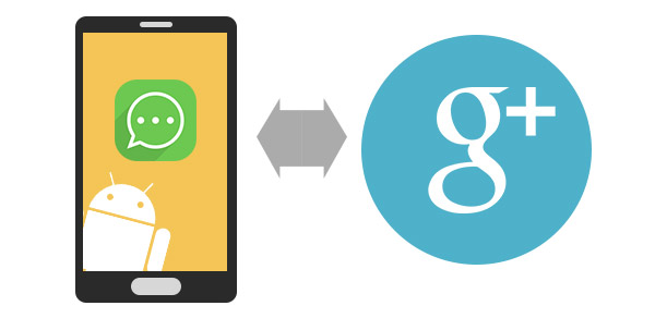 contatos android para google